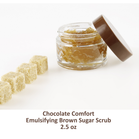 Chocolate Comfort- Emulsifying Brown Sugar  Scrub